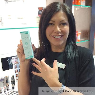 Terproline EGF skin treatment