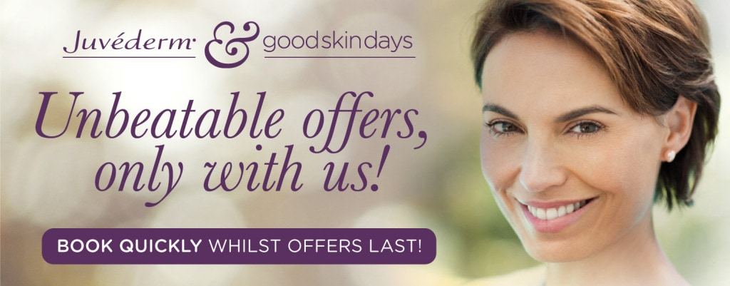 Very special prices on Dermal Fillers this Autumn - Good