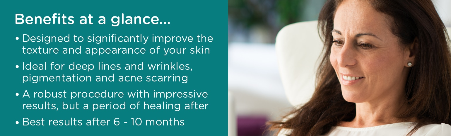 Laser Skin Surfacing Leeds - Benefits