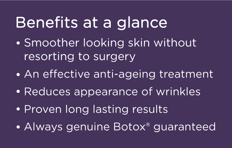 Genuine Botox Injections in Leeds - Wrinkle Relaxers - Good
