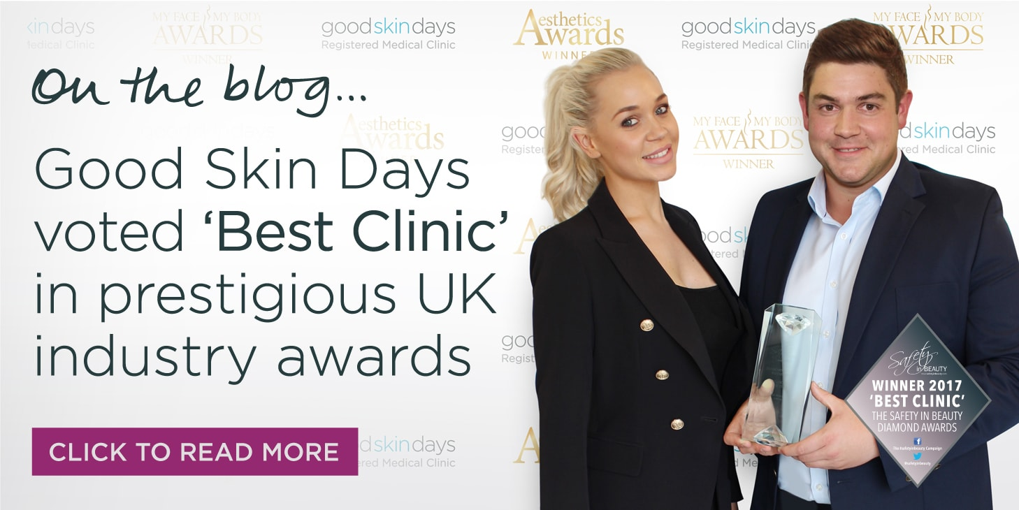 Safety In Beauty Diamond Awards UK Best Clinic 2017
