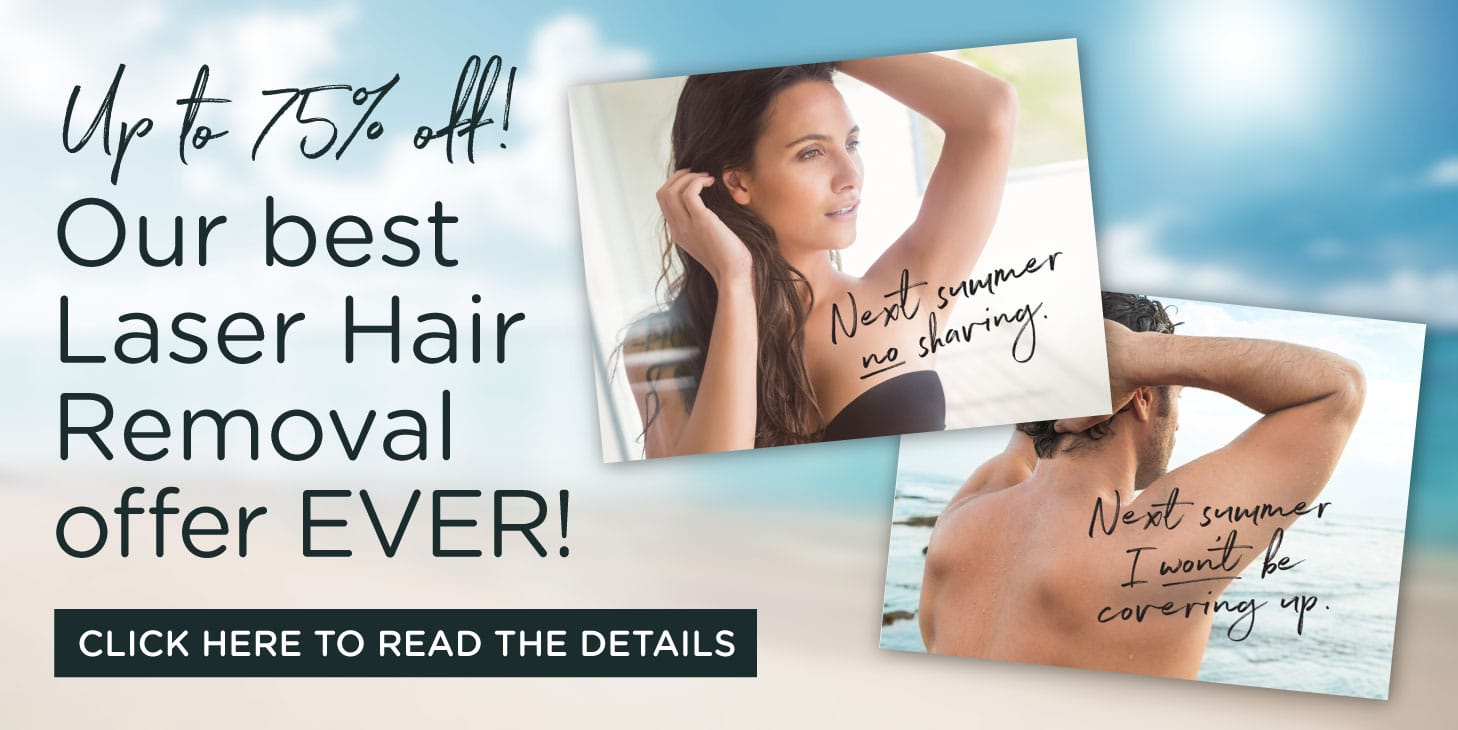 Best Laser Hair Removal Offer Ever