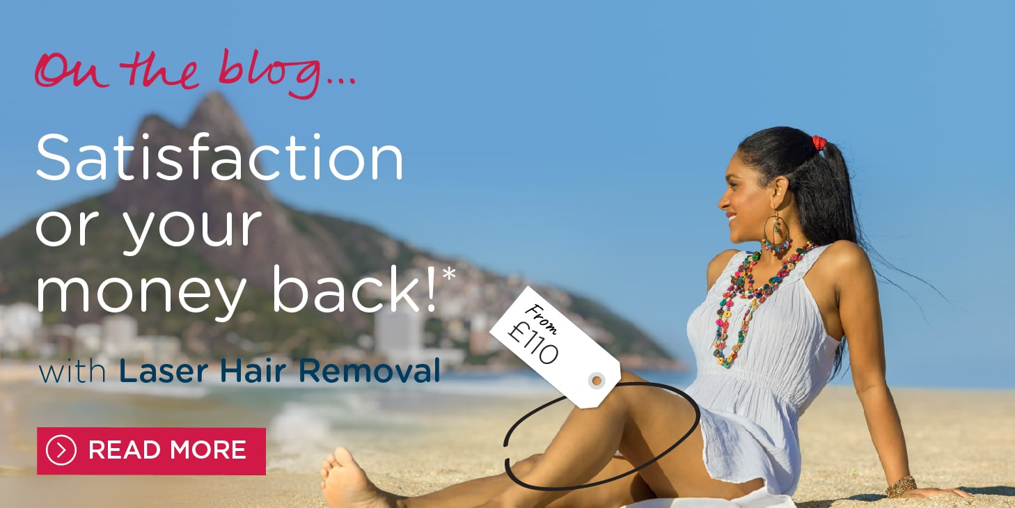 Laser Hair Removal - Money Back Guarantee