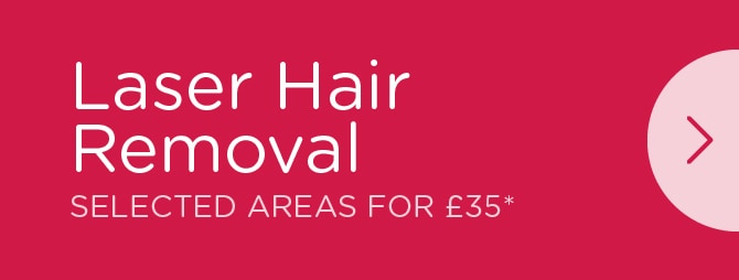 Laser Hair Removal £35 Special Offer