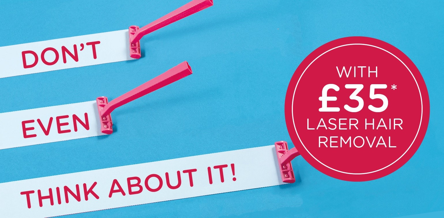 Laser Hair Removal Special Offer in Leeds, Guiseley and Harrogate