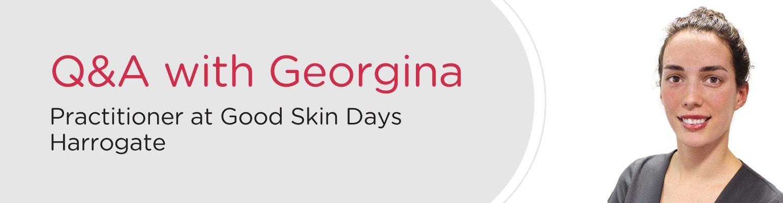 Q&A with Georgina at Good Skin Days Harrogate