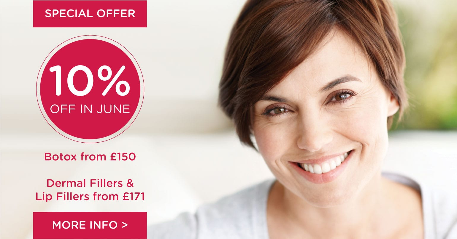 10% Off Injectable Treatments in June 2019