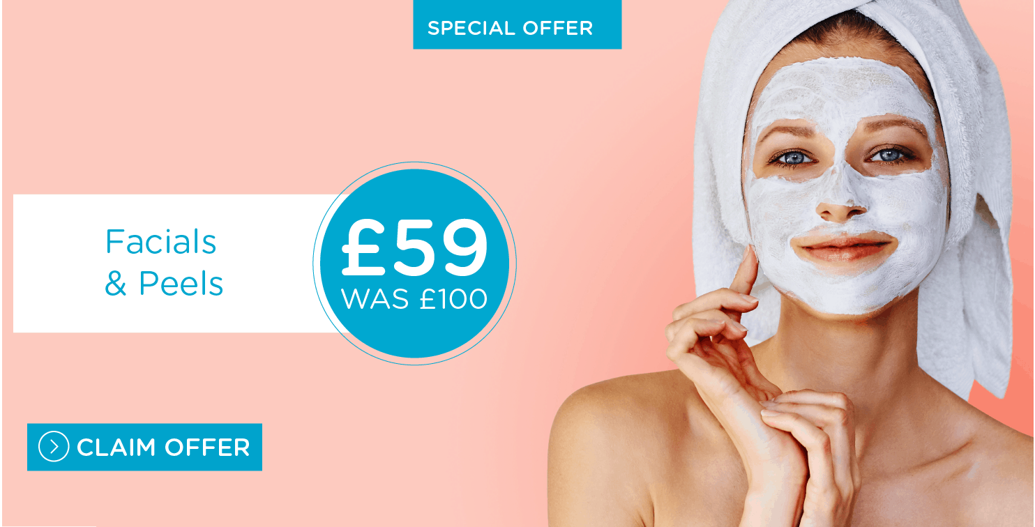 Special offers on microdermabrasion, peels and facials